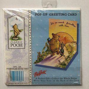Winnie the Pooh PopShots Pop-Up Friendship Card
